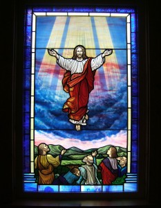 Ascension Window -for Ten Mile Baptist, WV
