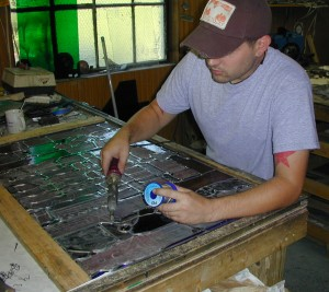 Building Stained Glass Windows