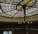 Completed Scaffolding Elkins Park, PA Stained Glass Restoration