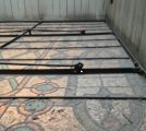 Courthouse Stained Glass Ceiling Cleaning Pottsville, PA Before