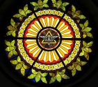 Holy Spirit Dove Rose Window Birdsboro, PA