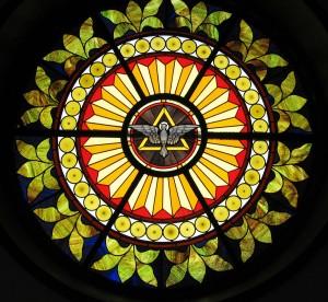 Holy Spirit Dove Rose Window Birdsboro, PA