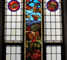 Fall Stained Glass Window