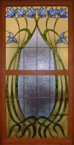 Flower Arts and Crafts Window