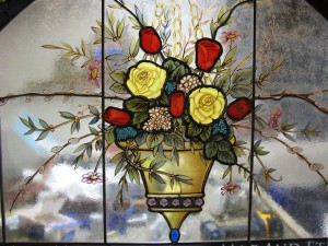 French Bouquet Stained Glass 2