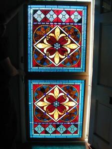 Geometric Custom Stained Glass