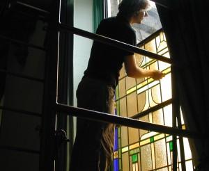 Installation of Restored Windows Chestnut Hill, PA