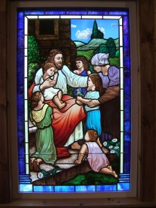 Jesus with the Children Window