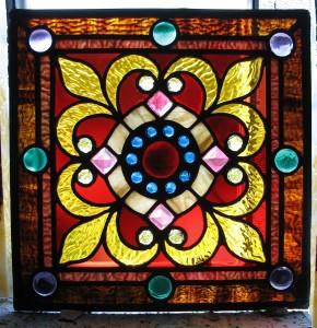 Jeweled Window Repair