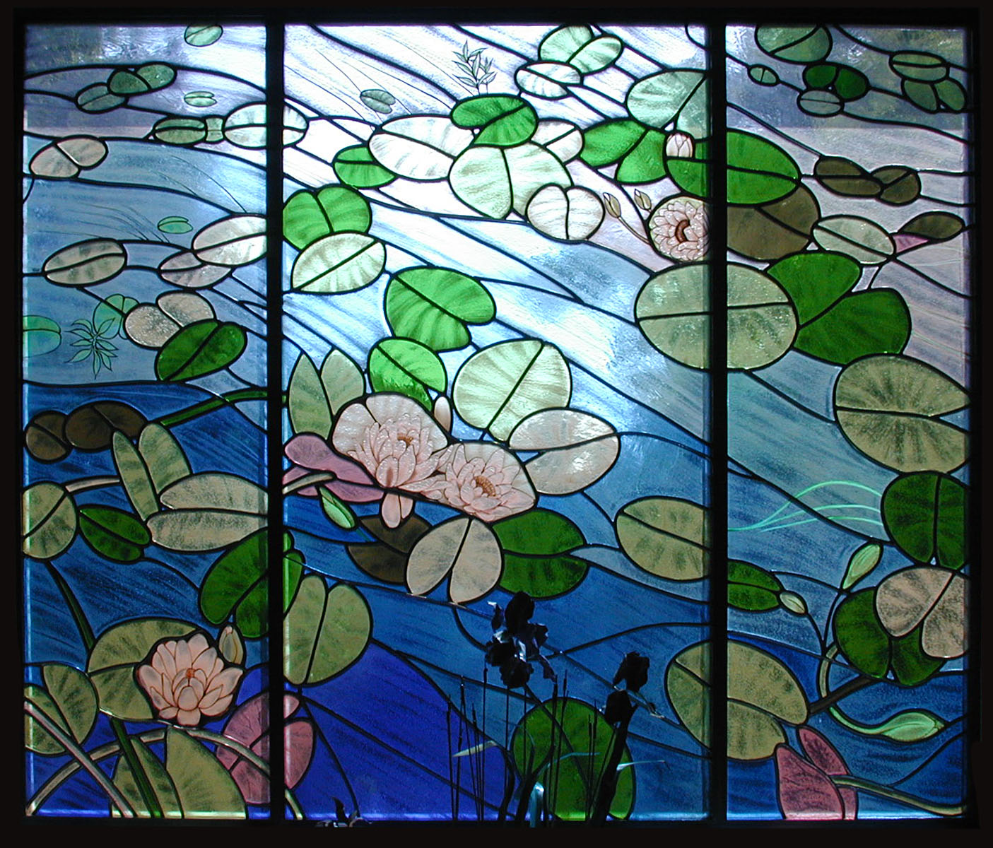 Lily Pad Window Castle Studio Stained Glass
