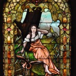Painted Lady Stained Glass