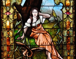 Painted Lady Window