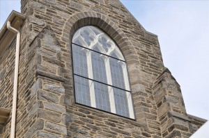 Protective Covering Stained Glass