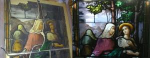 Ruth and Naomi Window Restoration