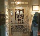Sand Blasted Basket Design