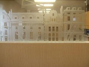 Sand Carved New York Design