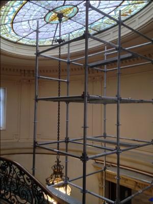 Scaffolding Tower Elkins Park, PA Restoration