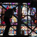 Stained Glass Restoration at Motherhouse Chapel, Chestnut Hill College, Philadelphia, PA