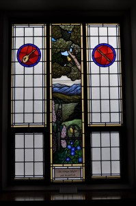 Summer Stained Glass Window