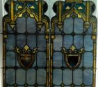 Tiffany Stained Glass Lancets Restoration