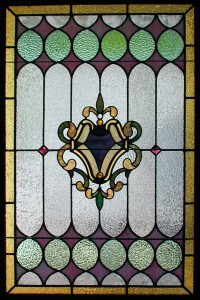 Victorian Style Leaded Window