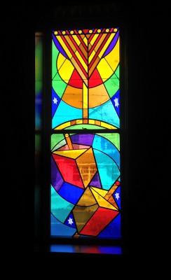 Glazier Jewish Center Stained Glass Windows Rosenstein2
