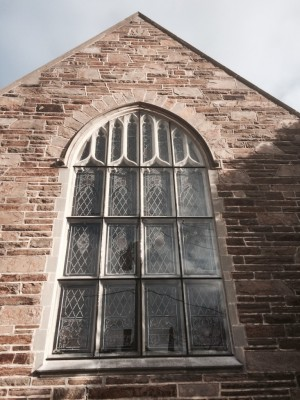After Restoration - Protective Glazing Restoration Project, Kennett Square, PA