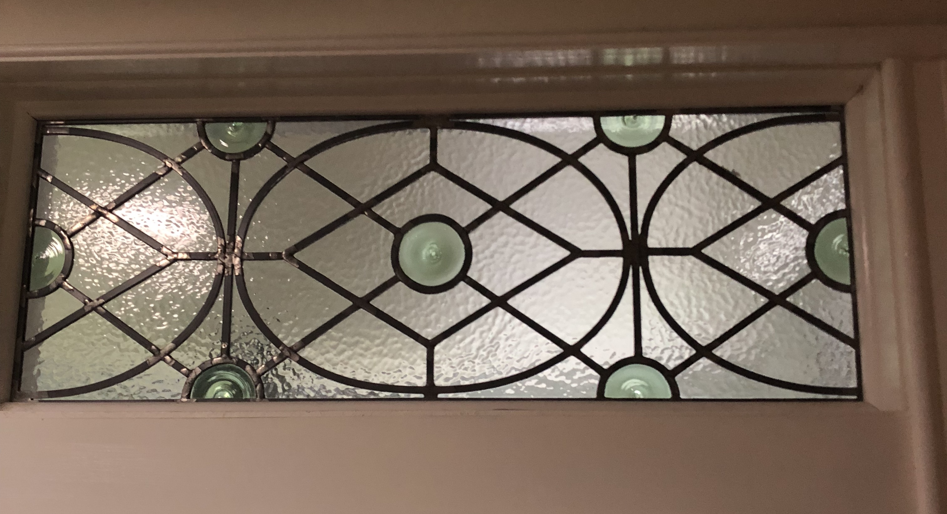 Stained Glass Overlay (SGO) Transom