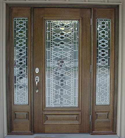 Example of SGO, or Stained Glass Overlay doors